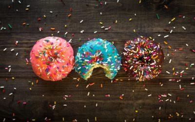 Prosecco and Jam Doughnuts